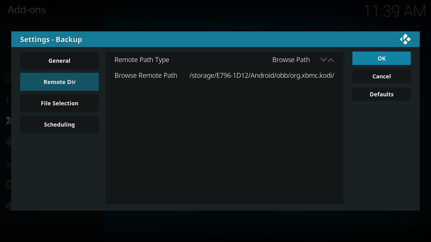 How To Back Up Kodi On Your Android TV Box - My Android Box